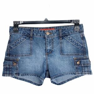 !it Jeans Denim Short Shorts Women's Blue